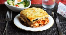 Low-Carb-Lasagne mit Zucchini und Aubergine You try to do without carbohydrates, but miss tasty lasagna? Then you should definitely try our delicious low-carb variant with zucchini and eggplant. Tasty Lasagna, Low Carb Lasagna, Eggplant Lasagna, Zucchini Lasagna, Feijoada Light, Sopas Light, Low Carb Recipes, Vegetarian Recipes, Traditional Lasagna