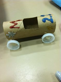 Rolling Race Car Tutorial Race Car Made From A Tp Toilet Paper