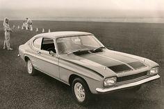 Ford Capri Pressefoto / press photo by Bernd Tuchen, via Flickr