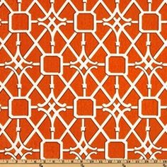 Network Coral Drapery Fabric by Waverly