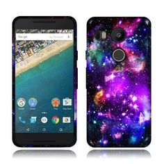 Purple Nebula Nexus 5x Case