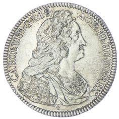 "Taler 1737 Hall Nummer ""4"" RDR Haus Österreich Karl VI. 1711 - 1740"
