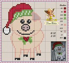 Cross Stitch Christmas Cards, Christmas Cross, Knit Patterns, Embroidery Patterns, Cross Stitch Patterns, Christmas Embroidery, Christmas Knitting, Christmas Crafts For Gifts, Craft Gifts