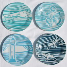 whitby plate set - gift boxed £17.95
