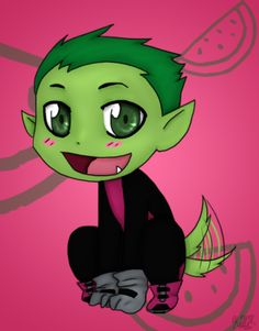 Chibi beast boy one of the teen titans raven beast boy, boy drawing, te Boy Drawing, Cartoon Girl Drawing, Chibi, Dreamworks Animation, Disney And Dreamworks, Raven Beast Boy, Titans Anime, Animation Sketches, Cartoon Drawings Of Animals