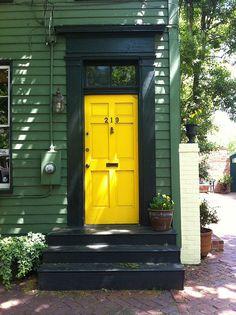 Great door colour!