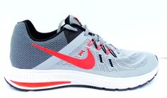 new products 8a926 a4294 Nike Zoom Winflo 2 Mens Running Shoes Grey Crimson 807276-005 11   eBay