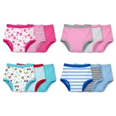 New! green sprouts® Reusable Absorbent Training Underwear (3 pack)   Encourages toddler to transition from diapers to underwear