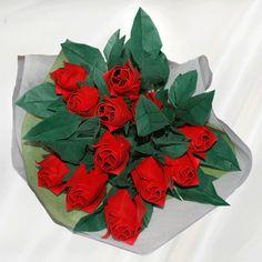 Premium Origami Roses Bouquet