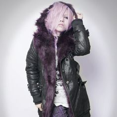 SEX POT ReVeNGe Black Faux Fur Coat