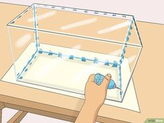 How to Build an Acrylic Aquarium. If you're planning to build your own aquarium, you may be considering opting for acrylic instead of glass. Not only is acrylic lighter than glass and less likely to shatter, but it's also easily molded,. Diy Aquarium, Turtle Aquarium, Aquarium Stand, Aquarium Setup, Aquarium Design, Aquarium Decorations, Saltwater Aquarium, Aquarium Fish Tank, Planted Aquarium