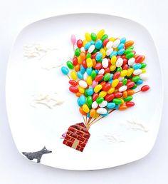 Alimentos Ilustraciones de Hong Yi