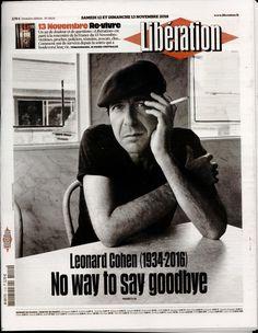 "Leonard Cohen - Cover of ""Liberation"" - November 12 2016"