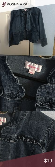 Jeans jacket Extra large gently uses Jean jacket. Xhilaration Jackets & Coats Jean Jackets
