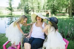 Heidi Chowen captures a fun moment with Grandma and the Granddaughters. #grandmalove #grandma #dressup #starlet #stellaindustries #welovegrandma #heidichowen