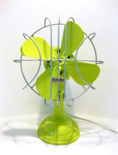 Color Verde Lima - Lime Green!!! Vintage Lime Fan