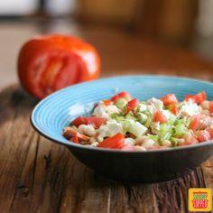 Tomato Bean Salad #SundaySupper