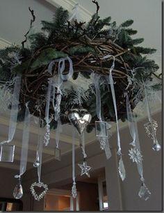 plafond kerstkrans