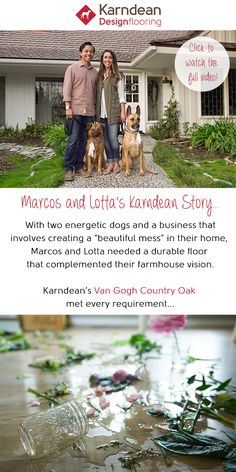 Meet Marcos and Lotta Rodriguez, a young couple from California who recently bought their first home and transformed it into their dream farmhouse-style residence... Watch the full story and find out how you can share yours here.