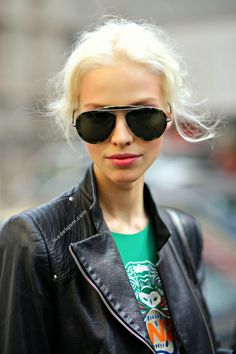 Sasha Luss after Dolce & Gabbana SS 2014, Milano, September 2013  Source: modelsjam