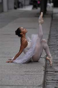 Misty Copeland, First African American female soloist for the American Ballet in NYC. I ❤❤❤❤❤❤❤ HER!!