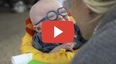 Share this video  Baby smiles in delight at seeing his mother for the first time