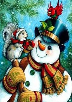 Diamond Painting Santa Claus Embroidery DIY Art Cross Stitch Set Xmas Home,Decor Cute Snowman, Christmas Snowman, Snowmen, Christmas Holiday, Cross Stitch Kits, Cross Stitch Embroidery, Image Halloween, How To Draw Santa, Decoupage