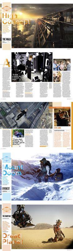 Winter Preview 2015 / Empire Magazine by Adam Gerrard