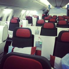 Austrian Airlines Business Class @gongjifei