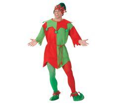 Disfraz de Elfo para hombre en talla estándar M-L