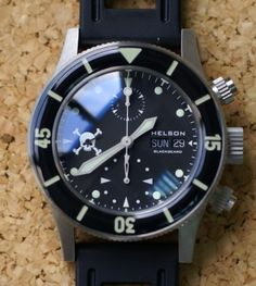 Blackbeard Chrono - Helson Watches