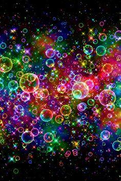 bubbles | Colorful Bubbles
