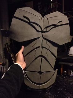 batman dark knight chest armor diy cardboard with template