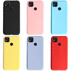 Marca: aliexpress es Funda de silicona para Xiaomi Redmi 9C, carcasa de silicona blanda Tpu, carcasa Simple para Xiaomi Cute Spiral Notebooks, Color Caramelo, Note 8, Cute Phone Cases, Aliexpress, Cover, Shells, Smartphone, Samsung Galaxy