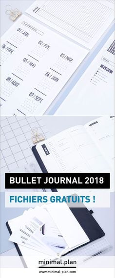 l 39 agenda 2018 pour planner ou bullet journal imprimer gratuitement 2 bulletjournal planner. Black Bedroom Furniture Sets. Home Design Ideas