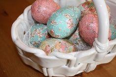 DYI:  Mod Podge Easter Eggs