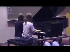Piano Duet, Chopsticks - Themes and Variations I'm playing this at my spring recital