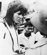 Letter to Jane est un film de Jean-Luc Godard et de Jean-Pierre Gorin, réalisé sous les auspices du Groupe Dziga Vertov, datant de 1972 et qui constitue en quelque sorte une suite à Tout va bien. Par l'utilisation de retours en arrière, ce film expérimental de 52 minutes condense un ensemble de réflexions sur la force de l'image à partir d'une seule et même photographie de Jane Fonda prise pendant la Guerre du Viêt Nam. Ce fut la dernière collaboration entre Godard et Gorin.