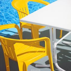 White Table - Yellow Chairs. Nick Hais. United Kingdom