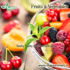 Tooty fruity fresh and fruity Fruit Salad, Fresh, Vegetables, Gallery, Food, Fruit Salads, Veggies, Veggie Food, Meals