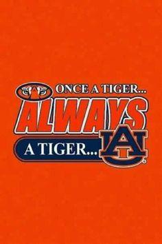 Onece a tiger, always a tiger. Sec Football, Auburn Football, College Football Teams, Clemson Tigers, Auburn Tigers, Football 2013, Auburn Logo, Tiger Love, Auburn University