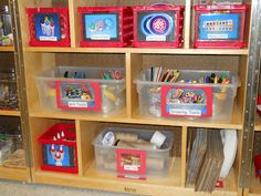 """Learning and Teaching With Preschoolers: Art Studio Makeover - great """"before and after"""" pictures"""