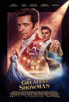 Posyer found on Etsy - The Greatest Showman Movie Poster - Michael Gracey Film - With Hugh Jackman, Michelle Williams - Art Print Size Hugh Jackman, Hugh Michael Jackman, Bon Film, Film D'animation, Film Serie, The Greatest Showman, Disney Star Wars, Movies And Series, Movies And Tv Shows
