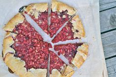 Raspberry Galette with Frangipane. I made this and it was possibly one of the best things I've ever made/eaten. The frangipane really makes it!