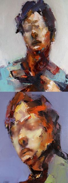 Australian artist Paul Wruiz