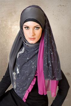 http://abayatrade.com muslim magazine  style for art | ... Amazing Hijab Scarf Styles Hijab Fashion Scarf Turkish Style for Women