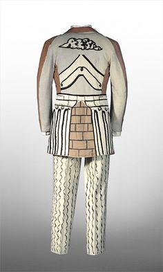 Giorgio di Chirico suits designed for the Ballets Russes