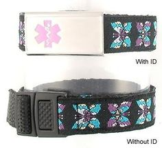 Butterfly Kids Medical Bracelet! Bought this for a food allergy!