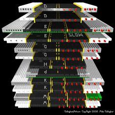 Misc Custom LEGO Roads