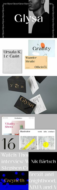 Glysa - Desktop Font & WebFont - YouWorkForThem